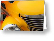Detroit Muscle Greeting Card