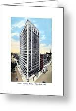 Detroit - The Kresge Building - West Adams Street - 1918 Greeting Card