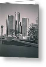 Detroit2 Greeting Card