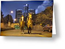 Detroit's Finest Detroit Mi Greeting Card