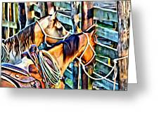 Deuce On Call Two Greeting Card