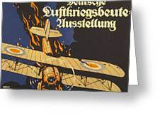 Deutsche Luftkriegsbeute Ausstellung Greeting Card