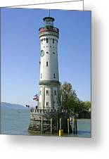 Deutschland, Bayern, Lindau Am Greeting Card by Tips Images