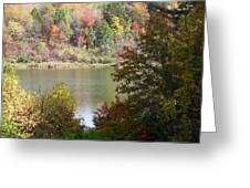Devils Bathtub Greeting Card