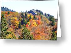 Devil's Courthouse In The Fall Greeting Card