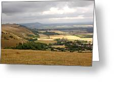 Devil's Dyke Greeting Card