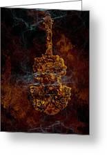 Devils Fiddle Greeting Card by Fran Riley