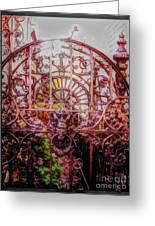 Devils Gate Greeting Card