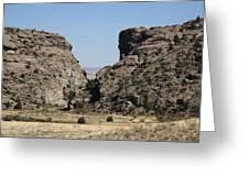 Devil's Gate - Wyoming Greeting Card