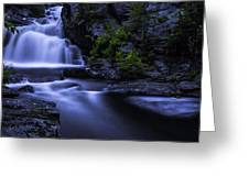 Devil's Hopyard Waterfall Greeting Card