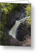 Devils Kettle Falls 3 Greeting Card