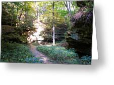 Devil's Punch Bowl Wildcat Den Greeting Card