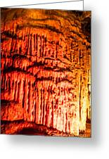 Devils Stalactite Greeting Card