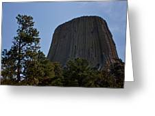 Devils Tower Greeting Card