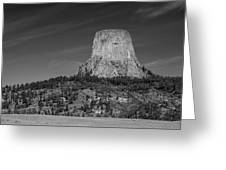 Devil's Tower Greeting Card