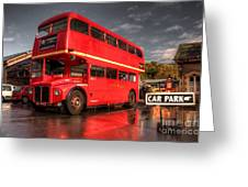 Devon Routemaster  Greeting Card