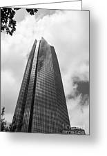 Devon Tower In Okc Greeting Card