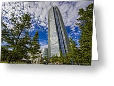 Devon Tower Oklahoma City Greeting Card