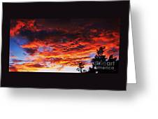 Devonshire Bay Sunset Greeting Card