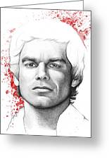 Dexter Morgan Greeting Card