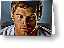 Dexter Portrait Greeting Card