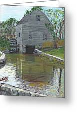 Dexter's Grist Mill - Cape Cod Greeting Card