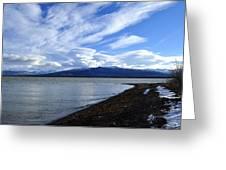 Dezadeash Lake Greeting Card