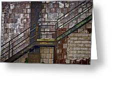 Diagonal Stairs Greeting Card by Murray Bloom