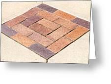 Diamond Bricks Greeting Card