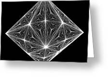 Diamond Crystal  Greeting Card