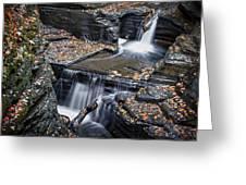 Diamond Falls Greeting Card