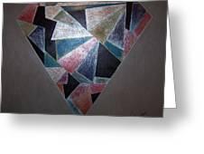 Diamond In The Mud Greeting Card