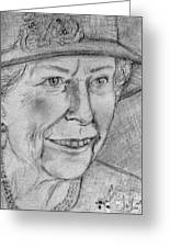 Diamond Jubilee Queen  Greeting Card