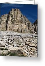 Diamond Lake Cliff Greeting Card