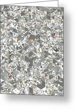 Diamond Sheet, Artwork Greeting Card