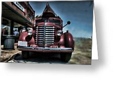 Diamond T Vintage Truck Art Greeting Card