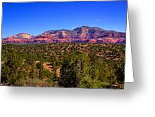 Diamondback Gulch Near Sedona Arizona Greeting Card