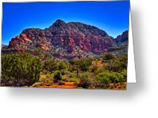 Diamondback Gulch Near Sedona Arizona Viii Greeting Card