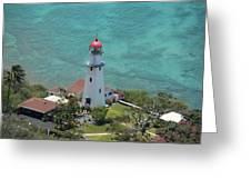 Diamondhead Lighthouse Greeting Card