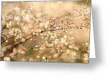 Diamonds And Pearls Greeting Card