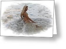 Diana In Cancun Greeting Card