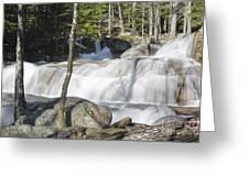 Dianas Bath - North Conway New Hampshire Usa Greeting Card