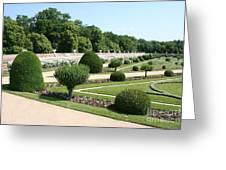 Diane De Poitiers' Gardens Greeting Card