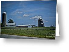 Diary Farm Greeting Card