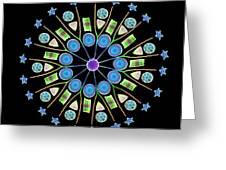 Diatom Assortment Greeting Card