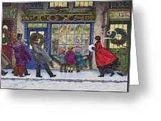 The Toy Shop Greeting Card