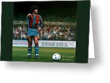 Diego Maradona Greeting Card