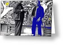 Diego Rivera Ted Degrazia  Mexico City Mexico Circa 1942-2013 Greeting Card