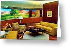 Diemaxium Living Room Greeting Card