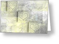 Digital-art Hearts II Greeting Card